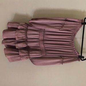Misa Giada dress size m is dusty rose